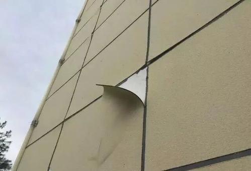 真石漆墙面大片掉皮脱落?原因和解决方法在这